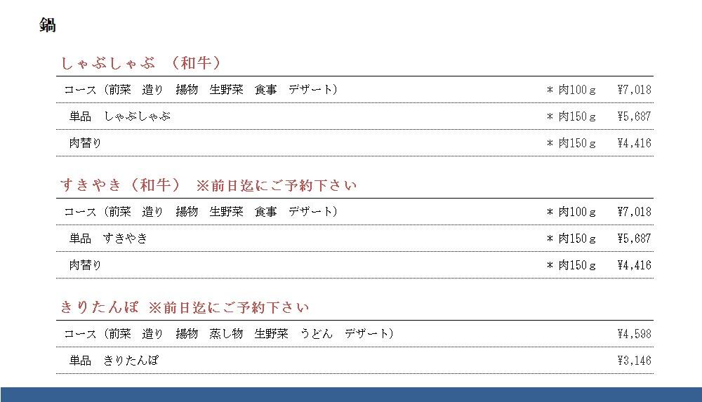 秋田車屋 鍋 200811