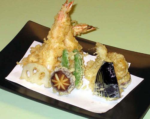 Tenpura Platter