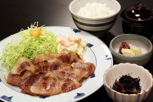 豚の味噌漬焼定食