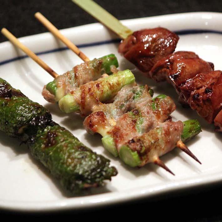 Charcoal Grilled Yakitori