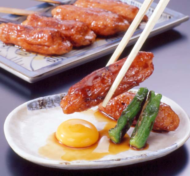 Tsukune (chicken meatball)