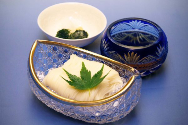Cold Inaniwa Udon Noodles