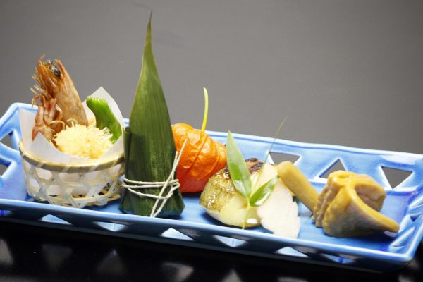 Grilled Dish Kaiseki Course