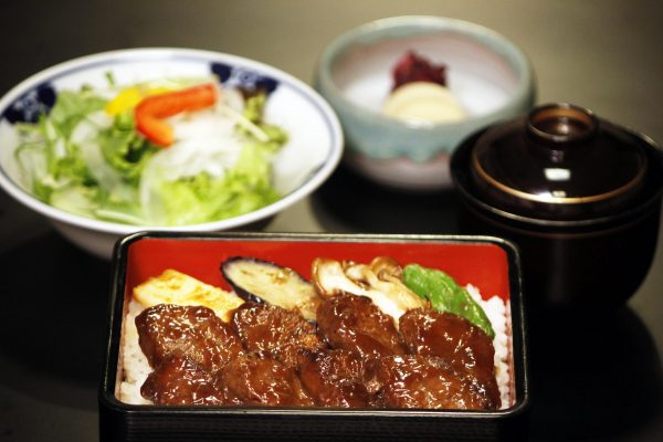 Filet of Wagyu Beef over Rice