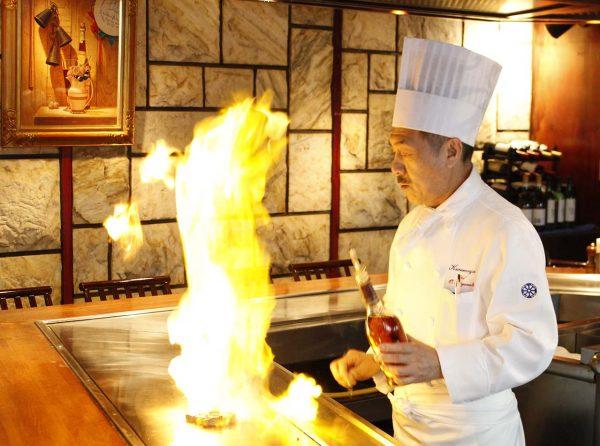 Wagyu Beef Teppanyaki Counter 1F Chef
