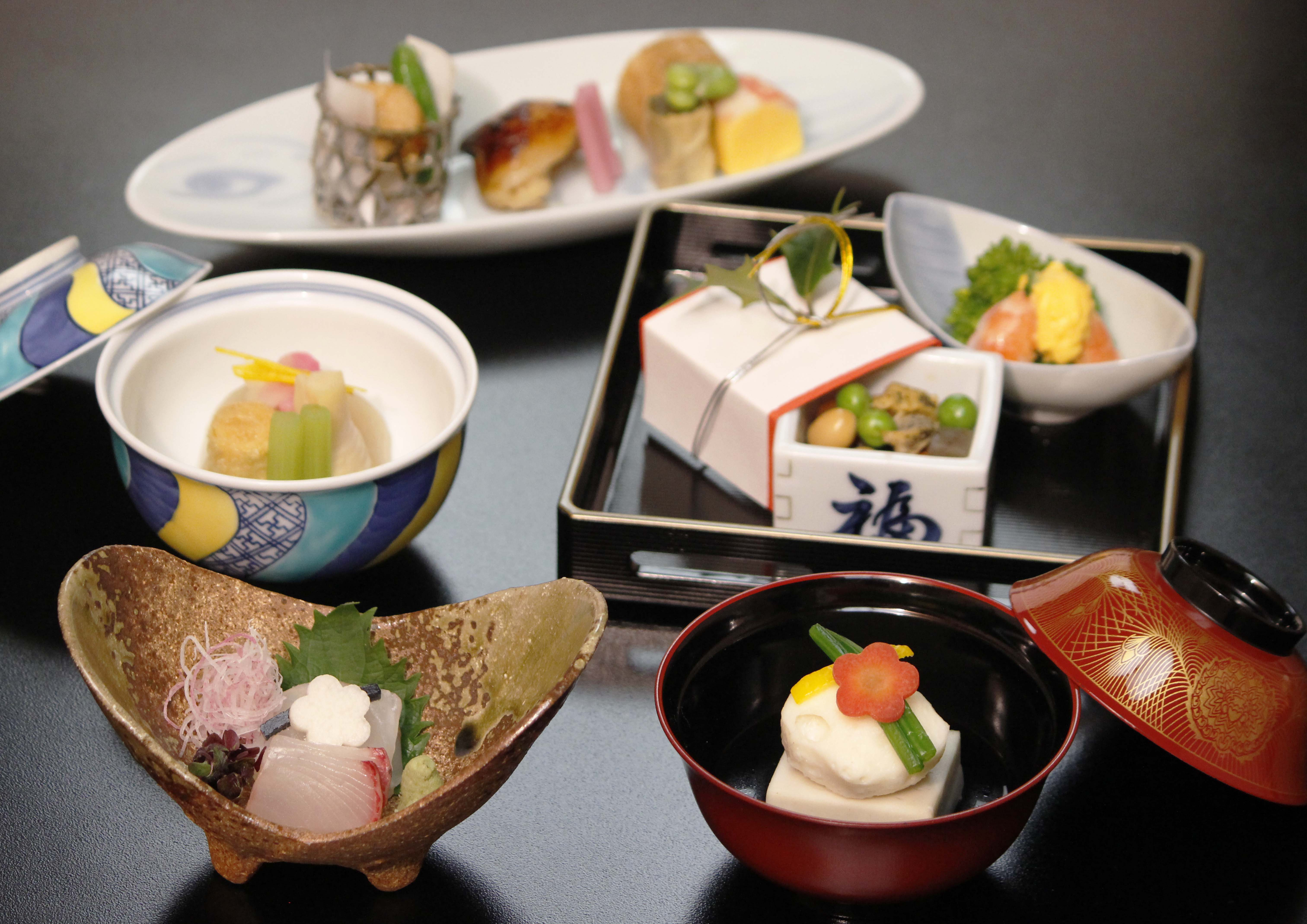 Lunch Kaiseki Course (Image)