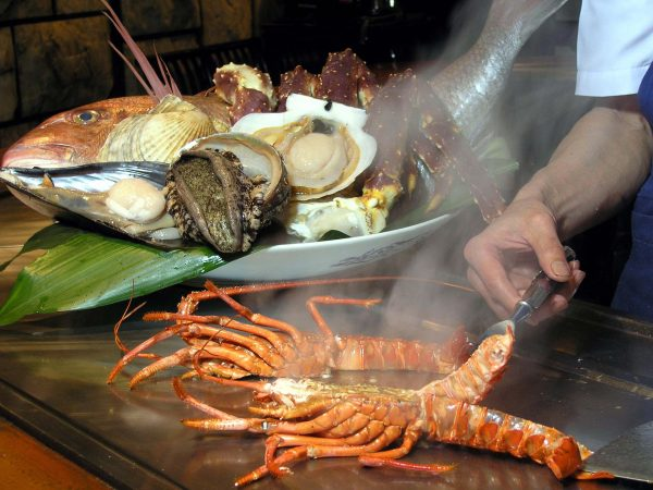 Seafood Course (image)