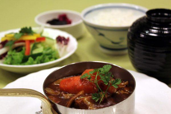 Beef Stew Lunch Set