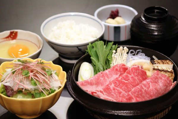Sukiyaki Lunch Set