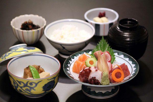 Fresh Sashimi Lunch Set