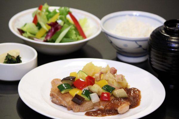 Grilled Chicken Lunch Set