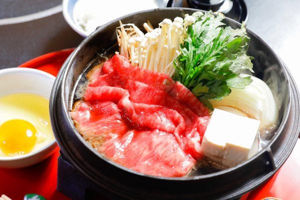Sukiyaki Lunch Set