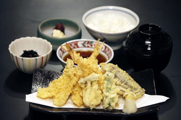 Tenpura Lunch Set
