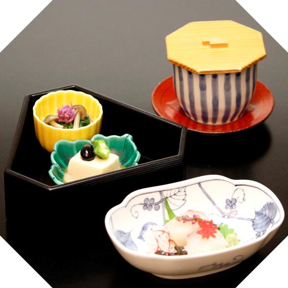 吉祥寺 特別ランチ 前菜/造り/茶碗蒸し