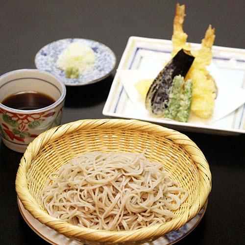 吉祥寺 特別ランチ ・天ぷら 蕎麦