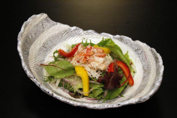 ずわい蟹のサラダ