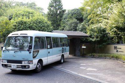 昭和の森車屋 送迎バス