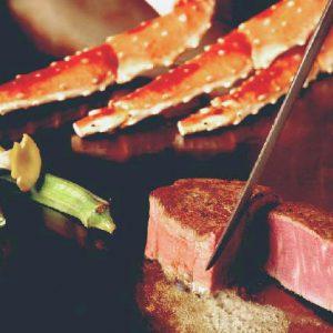 タラバ蟹&黒毛和牛シャトーブリアン