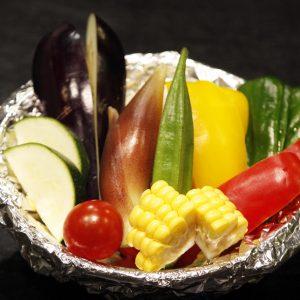 夏野菜フォイル焼