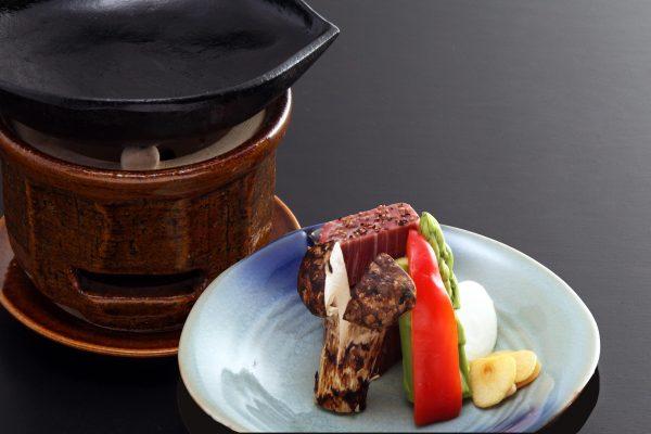 昭和の森車屋和牛会席 ステーキ