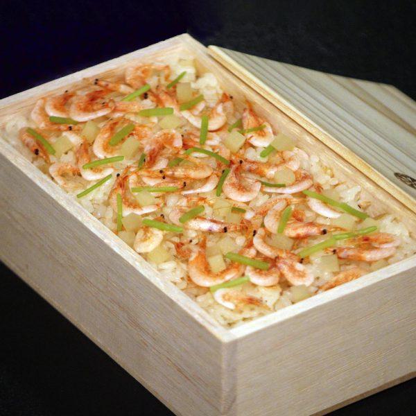 桜海老と新生姜ご飯