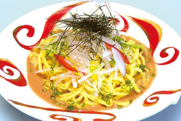 サラダ胡麻風味麺