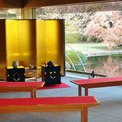 昭和の森車屋 ロビー(お茶会)